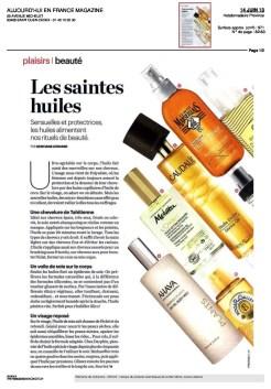 Article Aujourdhui juin 2013