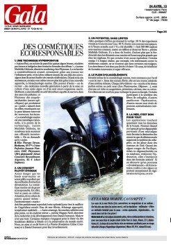 Article Gala Mai 2013