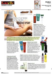 Article Gazelle mai 2013
