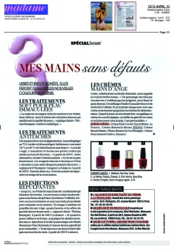 Article Madame Figaro Mai 2013 bis
