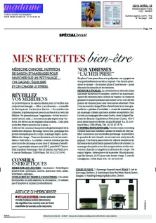 Article Madame Figaro Mai 2013