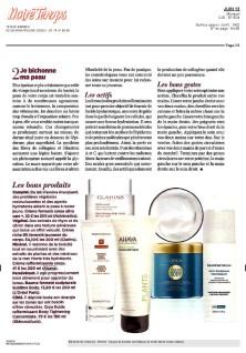 Article Notre Temps mai 2013