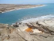 Les rives de la Mer Morte