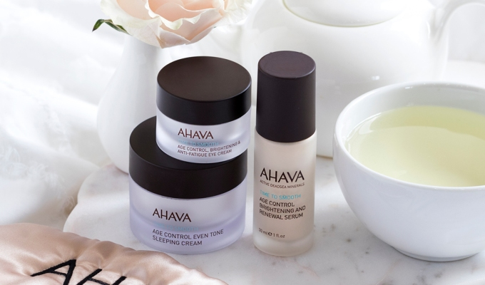 Routine du matin avec la game Time to Smooth Ahava